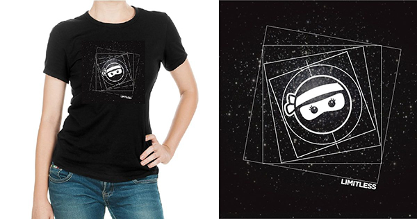 Celebrate Your Limitless Potential with an OfficeNinjas T-Shirt