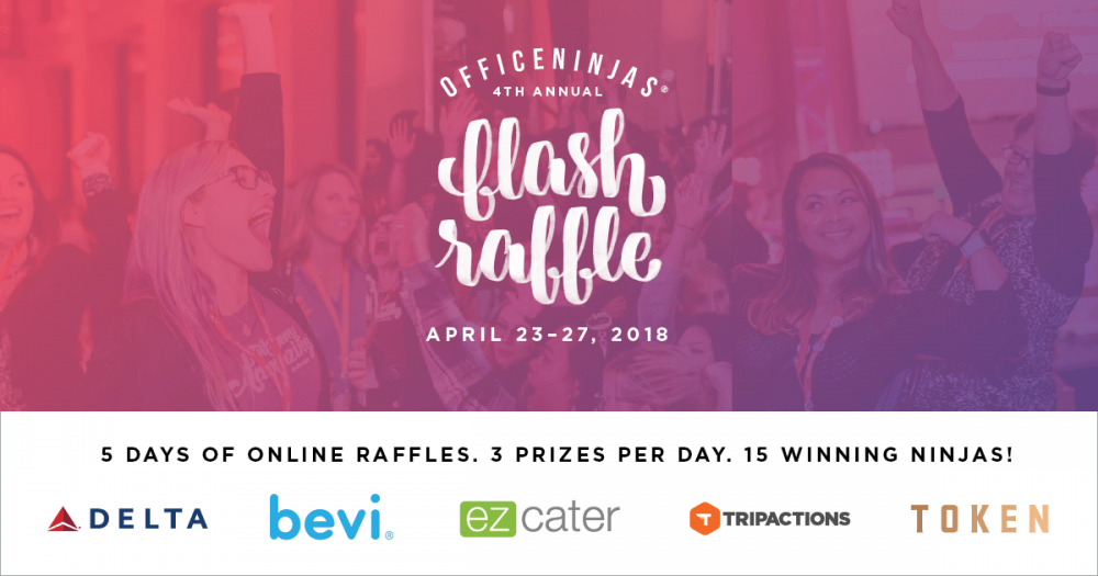 Sign up now to get Flash Raffle alerts.