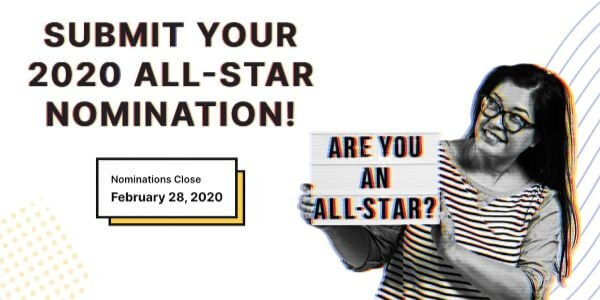 The 2020 All-Star nomination period closes TOMORROW!