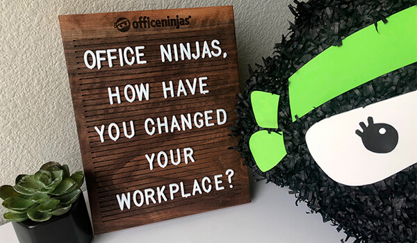 Workplace change starts with empowered Ninjas.