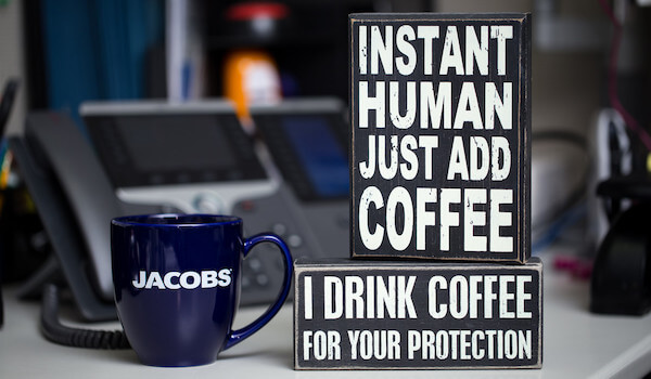 Instant Human Just Add Coffee